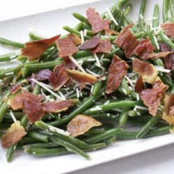 Green Bean Salad With Radishes and Prosciutto recipe