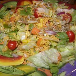 Santa Fe Chicken Salad, from Salad Creations recipe