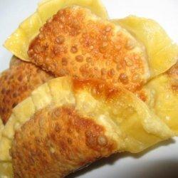 Banana Gyoza Dessert recipe
