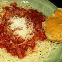 Spicy Tomato and Bacon Pasta recipe
