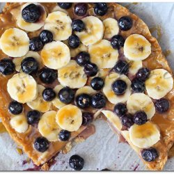 Banana Blueberry Pie recipe