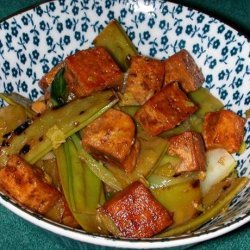 Sherry Tofu and Snow Peas recipe