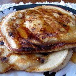 Whole Wheat Chocolate Chip Pancakes recipe