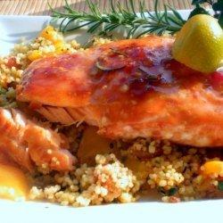 Maple Balsamic Glazed Salmon recipe