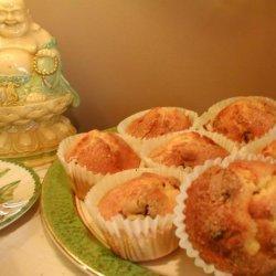 Sugar Free Orange Polenta Muffins recipe