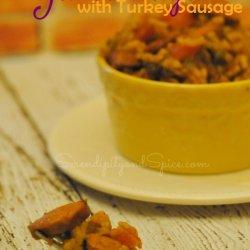 Turkey Sausage Jambalaya recipe