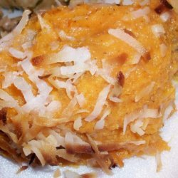 Kathie Lee Gifford's Mashed Sweet Potatoes With Orange Juice recipe