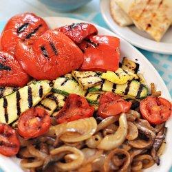 Grilled Vegetables With Balsamic Vinaigrette recipe