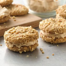 Salted Peanut Cookies recipe