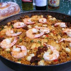 Party Paella recipe