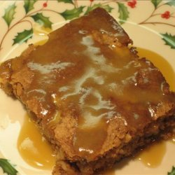 Autumn Apple Cake With Butter Sauce recipe