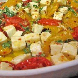 Marinated Peppers and Mozzarella recipe