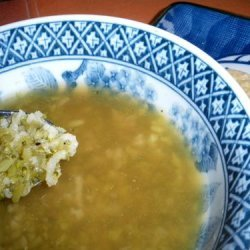 Simple Broccoli Rice Soup recipe