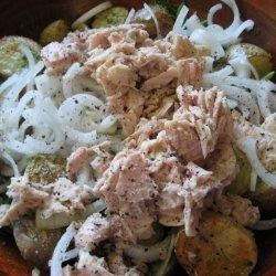 Roasted Potato and Green Bean Salad recipe