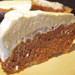 Easy Chocolate Cheese Pie recipe