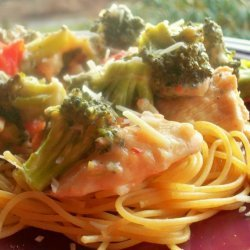 Parmesan Chicken & Broccoli Pasta recipe