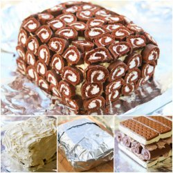 Ice Cream Cake Roll recipe
