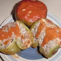 Sally's Stuffed Bell Peppers recipe