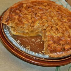 Apple Butterscotch Macadamia Pie recipe