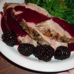 Pork Tenderloin With Blackberry Mustard Sauce recipe