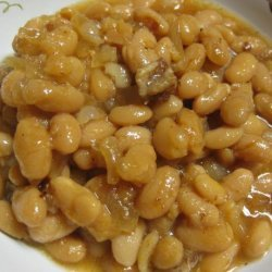 Slow Cooker Baked Beans With Maple Syrup recipe