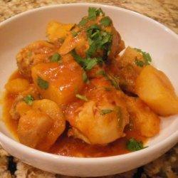 Chicken and Potatoes With Tomato Sauce (Pollo Sudado) recipe