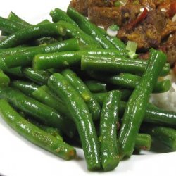 Indonesian Green Beans with Ginger & Chili recipe