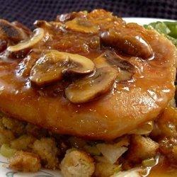 Country Pork Chops With Mushroom Gravy recipe