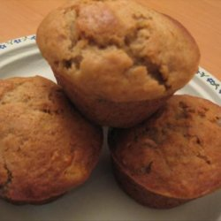 Ginger Banana Nut Muffins recipe