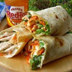 Buffalo Chicken Wraps recipe