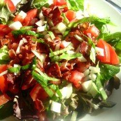 Tomato and Bacon Salad in Bibb Lettuce Cups recipe