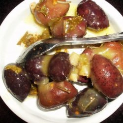 Moroccan Herbed Olives recipe