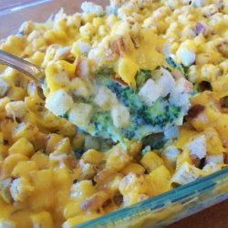 Broccoli and Stuffing Casserole recipe