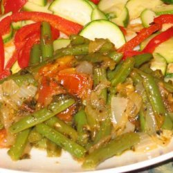 Grecian Green Beans recipe