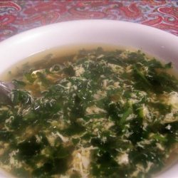 Michele's Spinach Egg Drop Soup recipe