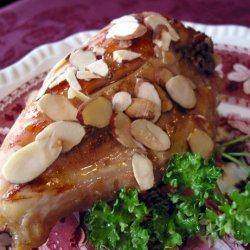 Honey-Glazed Chicken Breasts With Rosemary and Toasted Almonds recipe