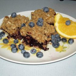 Blueberry Oatmeal Squares recipe