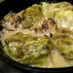Cabbage Rolls With Mushroom Soup recipe