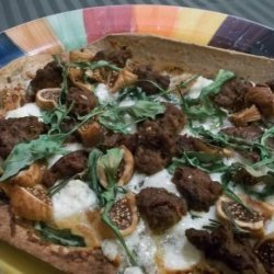 Maggie and Peter's Blue Cheese and Fig Pizza recipe