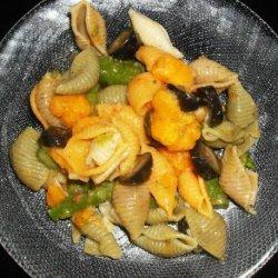 Asparagus Pasta Salad -- Vegetarian recipe