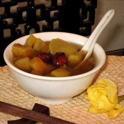 Traditional Chinese Sweet Potato & Ginger Dessert Soup recipe