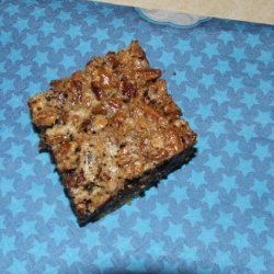 Chunky Pecan Pie Bars recipe