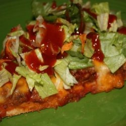 The Best Taco Pizza Ever!! recipe