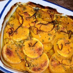 Baked Butternut Squash With Orange recipe