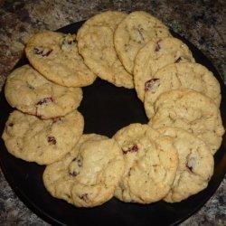 Crisp cranberry oatmeal cookies (small batch) recipe