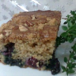 Blueberry Thyme Coffee Cake recipe