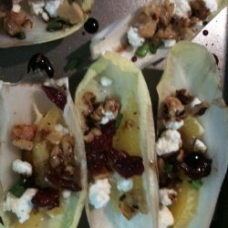 Endive Stuffed With Goat Cheese and Walnuts recipe