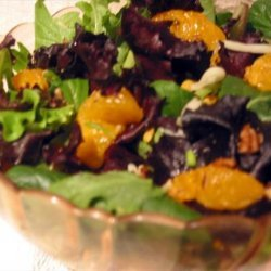 Mandarin Orange Salad With Ranch Dressing recipe