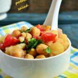 Potato and Chickpea Salad recipe