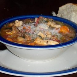 Chunky Chicken and White Bean Soup recipe